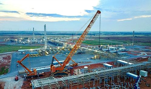 northwest crane construction site