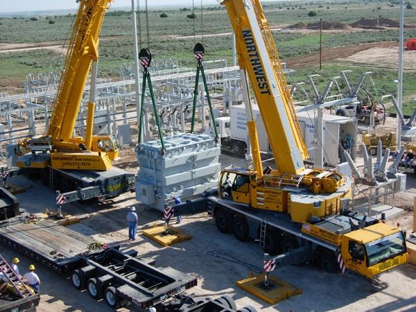 transformer crane project