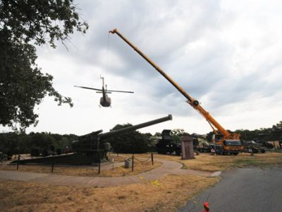 Detaching Aircrafts at the 45th Infantry Division Museum