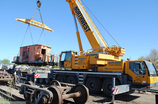Shawnee Rail Yard Gets Lift With LTM 1100-4.1